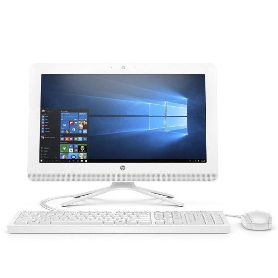 Picture of HP 19.5'' All-in-One Desktop Computer - Snow White