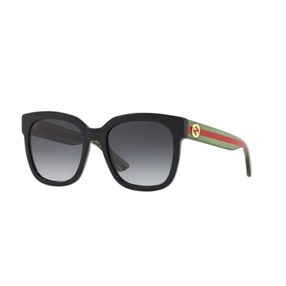 Picture of Gucci Wayfarer - Green and Red with Grey Lens