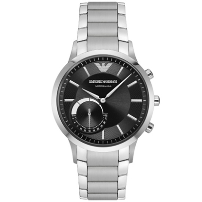 Picture of Emporio Armani Renato Stainless Steel Hybrid Smartwatch