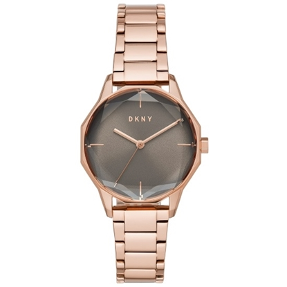 Picture of DKNY Round Cityspire Rose Gold-Tone Watch