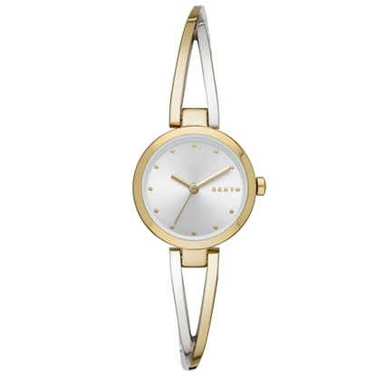 Picture of DKNY Crosswalk Two-Tone Bangle Watch