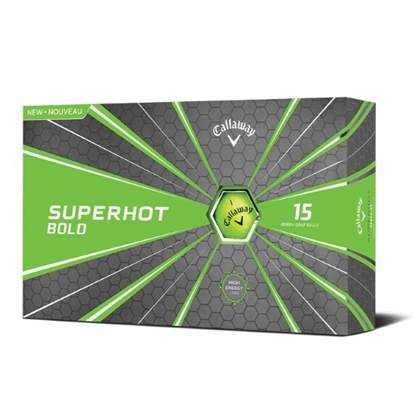 Picture of Callaway Superhot Bold Green Golf Balls - 30 Pack