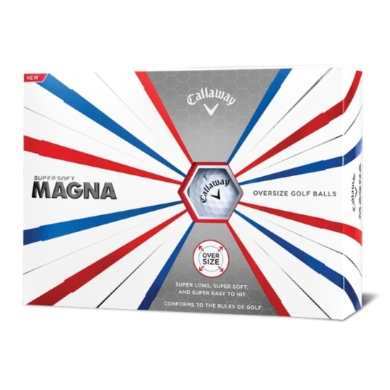 Picture of Callaway Supersoft Magna Golf Balls - 2 Dozen