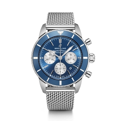 Picture of Breitling Superocean Heritage II B01 Chrono 44 - Steel/Blue
