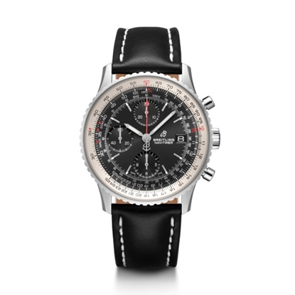 Picture of Breitling Navitimer 1 Chrono 41 - Leather Strap/Black Dial
