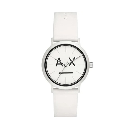 Picture of Armani Exchange Lola White Silicone Watch