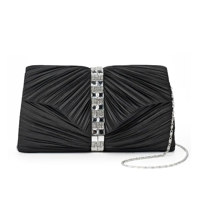 Picture of Jessica McClintock Florence Pleated Clutch