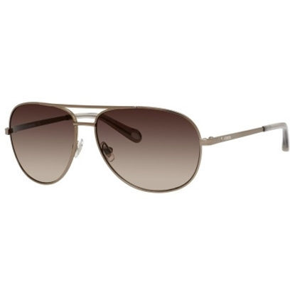 Picture of Fossil Alex Aviator Sunglasses - Almond/Brown Lens