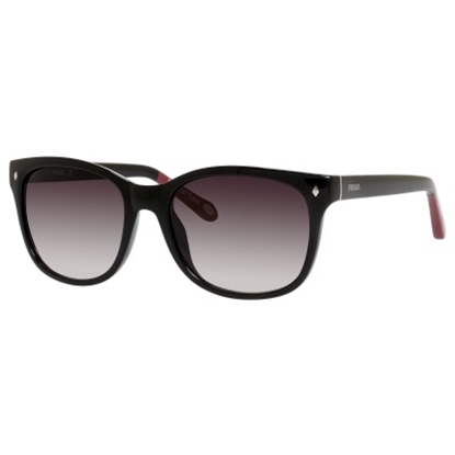 Picture of Fossil Cat Eye Sunglasses - Black/Gray Lens