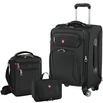 Picture of Wenger Identity 3-Piece Carry-On Luggage Set - Black