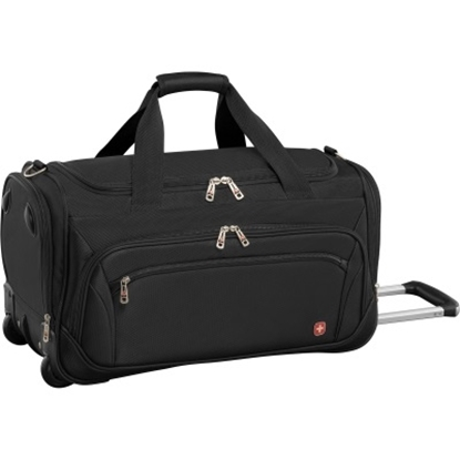 Picture of Wenger Identity Wheeled Duffel - Black