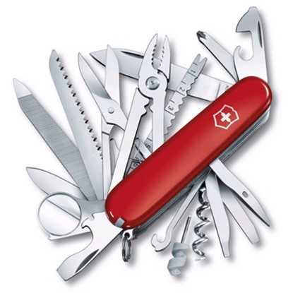 Picture of Victorinox Swiss Army SwissChamp Pocket Tool-Red