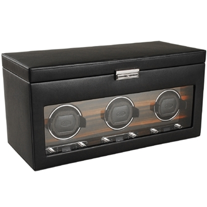 Picture of WOLF Roadster Triple Watch Winder with Storage