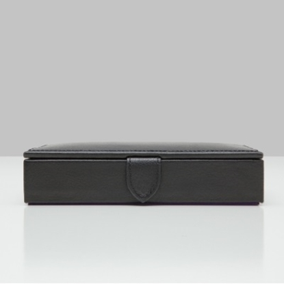 Picture of Wolf Designs Blake Cufflink Case - Black
