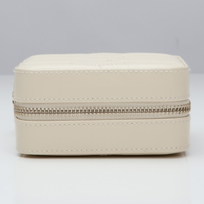 Picture of Wolf Caroline Zip Travel Case - Cream