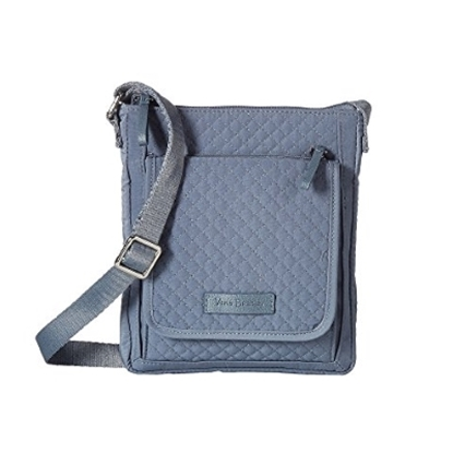 Picture of Vera Bradley Iconic RFID Mini Hipster - Charcoal