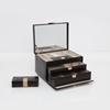 Picture of Wolf Chloe Medium Jewelry Box - Black