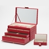 Picture of Wolf Caroline Large Jewelry Case - Red