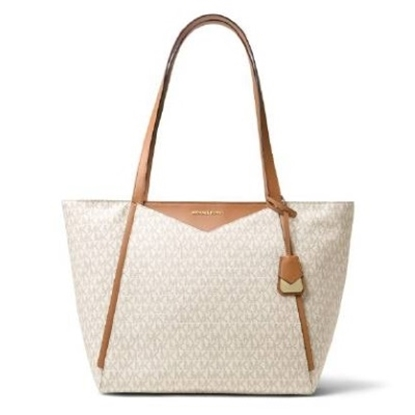 Picture of Michael Kors Whitney Signature Large Top-Zip Tote
