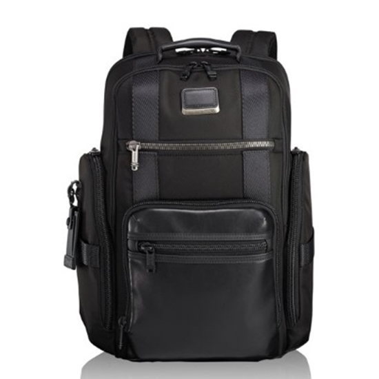 Picture of Tumi Alpha Bravo Sheppard Deluxe Brief Pack - Black