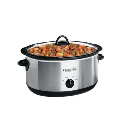 Picture of Crock-Pot® 7-Qt. Manual Slow Cooker w/ Travel Bag