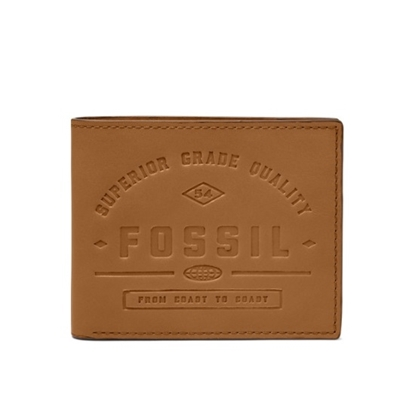 Picture of Fossil Lee Bifold Leather Wallet - Tan