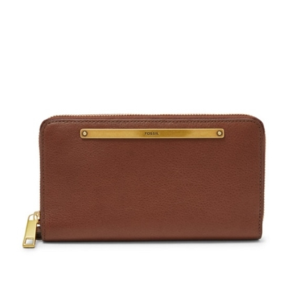 Picture of Fossil Ladies' Liza Clutch - Brown