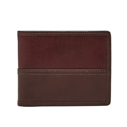Picture of Fossil Men's Philip Bifold Card Case - Luggage