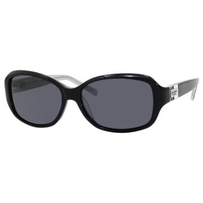 Picture of Kate Spade Annika Polarized Sunglasses - Black Sparkle
