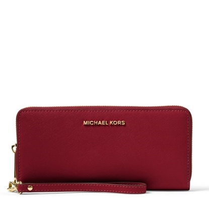 Picture of Michael Kors Travel Continental - Maroon