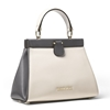 Picture of Michael Kors Grammercy Frame Small Satchel - Light Cream Multi