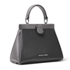 Picture of Michael Kors Grammercy Frame Small Satchel - Charcoal Multi