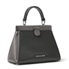 Picture of Michael Kors Grammercy Frame Large Satchel - Charcoal Multi