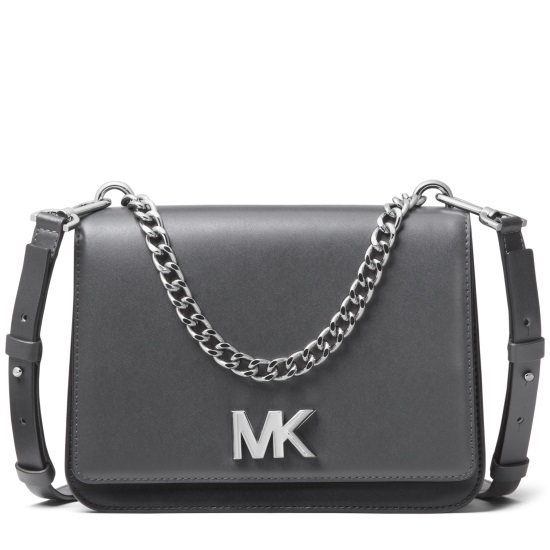 Picture of Michael Kors Mott Large Chain Swag Shoulder - Charcoal Multi
