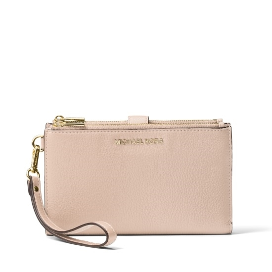 Picture of Michael Kors Double Zip Wristlet - Soft Pink