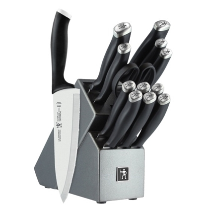 Picture of Zwilling J.A. Henckels 14-Piece Silvercap Knife Block Set