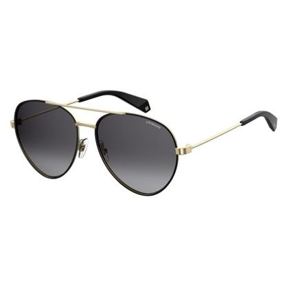 Picture of Polaroid Aviator Sunglasses - Black/Gray