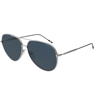 Picture of Montblanc Herr Meisterstuck Sunglasses - Silver/Blue