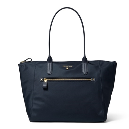 Picture of Michael Kors Nylon Kelsey Large Top-Zip Tote - Admiral