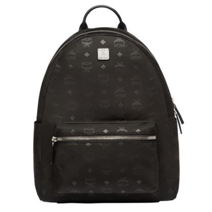 Picture of MCM Dieter Monogram Nylon Backpack - Black