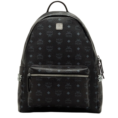 Picture of MCM Medium Side Stud Stark Backpack - Black