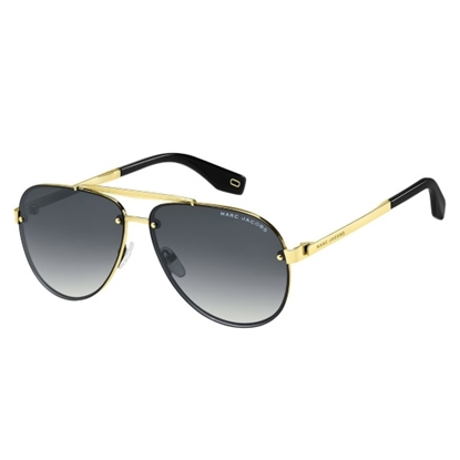 Picture of Marc Jacobs Aviators - Antiqued Gold/Dark Grey Gradient