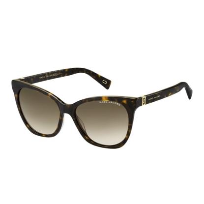 Picture of Marc Jacobs Cat Eye Sunglasses - Dark Havana/Brown Gradient