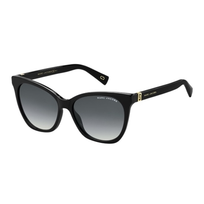 Picture of Marc Jacobs Cat Eye Sunglasses - Black/Dark Grey Gradient