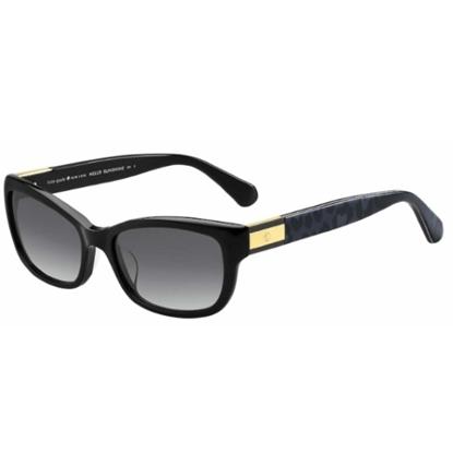 Picture of Kate Spade Marilee Sunglasses - Black/Dark Grey Gradient Lens