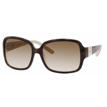 Picture of Kate Spade Lulu Sunglasses - Tortoise Gold/Brown Gradient Lens