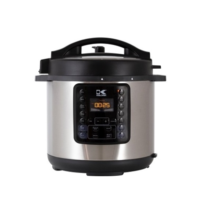 Picture of Kalorik 8L Pressure Cooker - Black/Stainless Steel