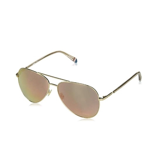 aa81c6d4e3 MileagePlus Merchandise Awards. Fossil Aviator Sunglasses - Red Gold ...