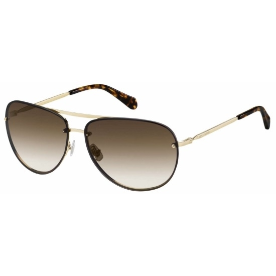 Picture of Fossil Ferndale Metal Sunglasses - Light Gold/Brown Gradient