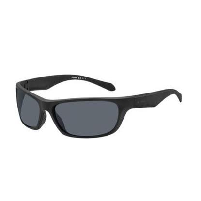 Picture of Fossil Rectangular Sunglasses - Matte Black/Grey Blue Lens